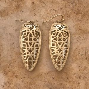 Gold Kendra Scott Earrings